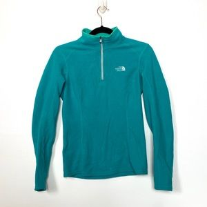 The North Face Turquoise Fleece